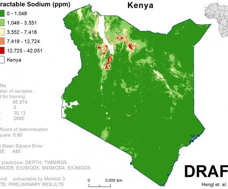 Kenya - extractable Sodium